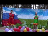 гости из Вологды Марина и Эльвира Шевдины с песней