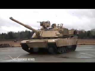 Тестирование американского ОБТ M1A2 SEP v3