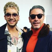 Bill Kaulitz & Armano Hairdresser - Milan, Italy, 22.02.2017
