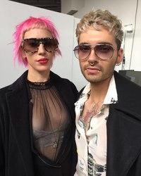 Bill Kaulitz & Vittoria Hyde - Milan, Italy, 22.02.2017
