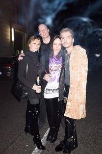 Bill Kaulitz, Natalie Franz, Joerg Koch, Maria Koch - Milan, Italy, 22.02.2017