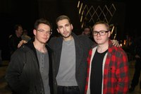 Bill Kaulitz Georg Listing Gustav Schafer 2017 Berlin, Germany for Radio SAW