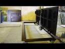 Напольный люк с электро приводом