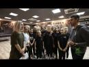 """""""Родные просторы"""" на репетиции шоу-балета """"Тодес"""""""