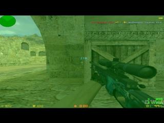 Прострелы на de_dust2_2x2 №5 (заключительное видео)