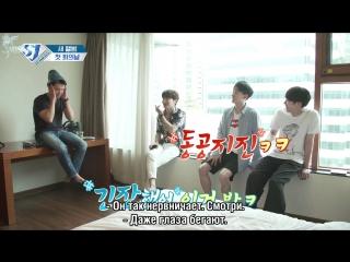 SJ Returns Ep 6 - Первая встреча для нового альбома SJ (рус.саб)