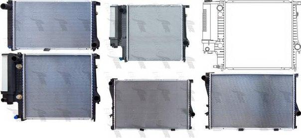Радиатор, охлаждение двигателя для BMW Z1