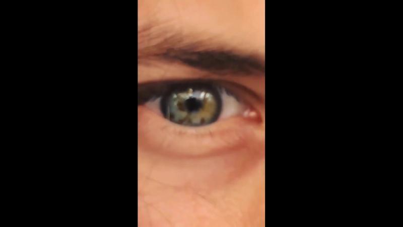Инстастори - глаз Шпака