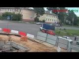 ДТП, перекресток ул.Зернова-ул.Садовая, Саров 8 августа 2017.