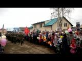 Торжественный митинг. Марш зарничников и кадетов.