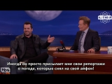 Jim Jefferies on Conan (15.06.2017) / Джим Джеффрис у Конана о Брэде Питте [AllStandUp | Субтитры)