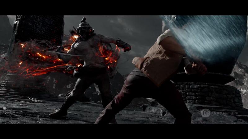 Меч короля Артура / King Arthur: Legend of the Sword.Спецэффекты (2017) [1080p]