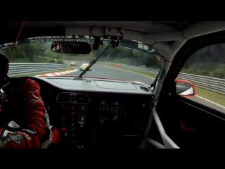 Onboard with Sabine Schmitz in a Porsche 911 GT3 at Nurburgring