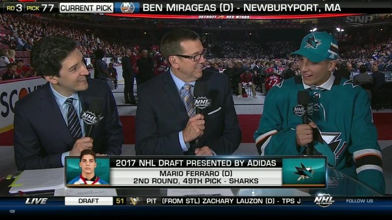 2017 NHL Draft / Round 2-6 June 24, 2017