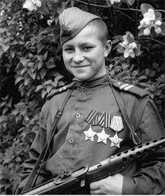 Юные защитники Отечества 1941-1945