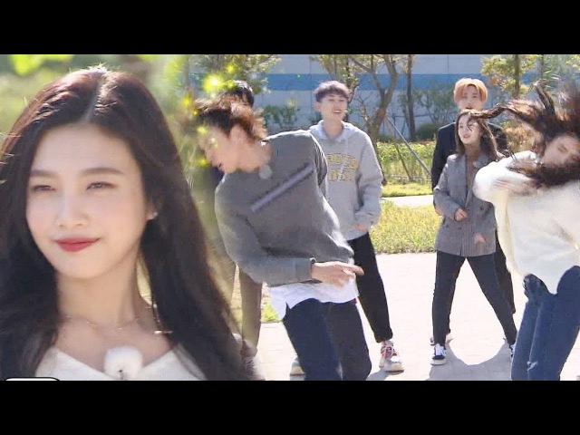 레드벨벳 조이, 광란의 귓방망이 댄스 신고식 '찰진 손놀림' 《Running Man》런닝맨 EP508