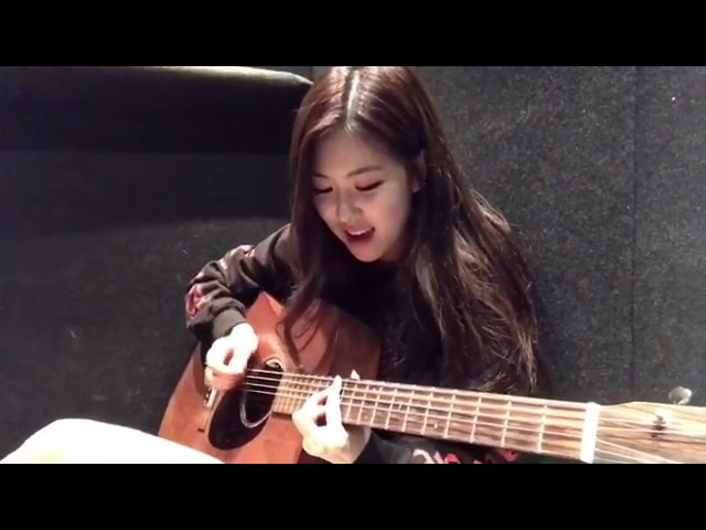 ROSE BLACKPINK COVER WINNER REALLY REALLY( acoustic )