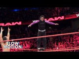 Amazing slow-motion footage of The Hardy Boyz vs. Gallows &amp Anderson Exclusive, Apr. 3, 2017