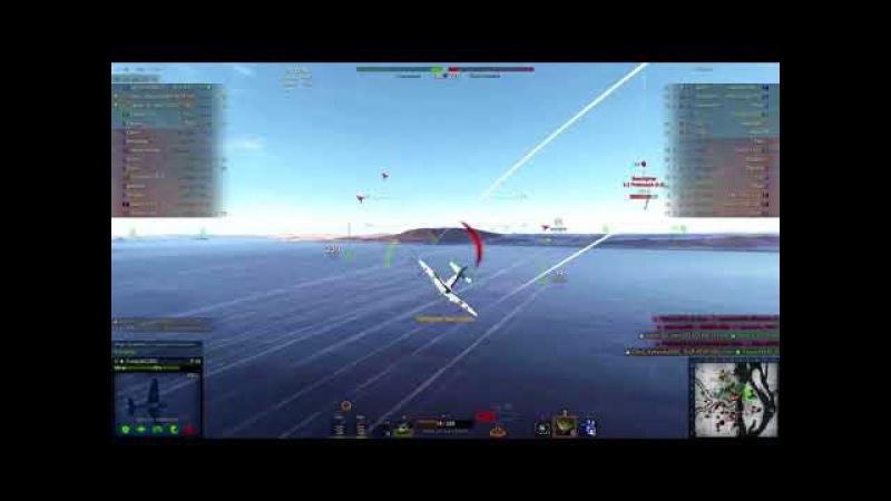 World of Warplanes. ЯК-7. Выжить любой ценой. Решающий вклад.