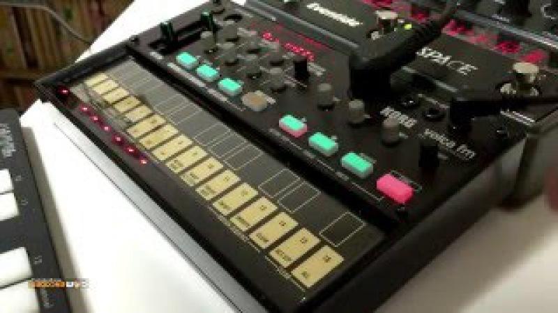 KORG volca fm Eventide SPACE : variety of sound