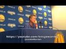 STEVE KERR, Warriors (4-2) postgame vs Wizards: Looney/Casspi/David West, Draymond-Beal altercation