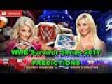 WWE Survivor Series 2017 Alexa Bliss vs. Charlotte Flair Predictions WWE 2K18