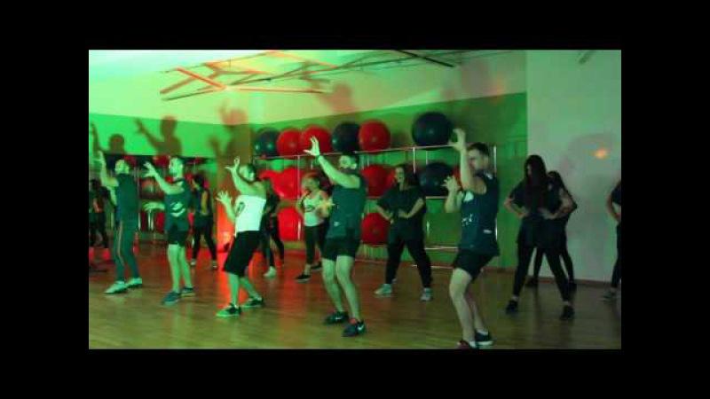 Танец «Охотники за привидениями» - Новогодний фитнес-квест (PLAZA)
