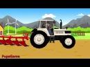 Мультик про Фермера и Трактор - Видео для Детей