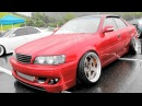 TOYOTA CHASER JZX100 Red/custom 100系チェイサーカスタム赤 - Zeal杯 2016 DRESS-UP CAR SHOW in JAPAN