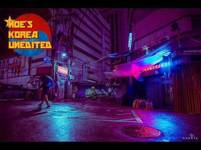 Neon Noir / Cyberpunk Lightroom Tutorial [Noe's Korea Unedited]