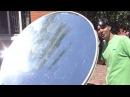 🌑 Солнечный концентратор 2000°С из спутниковой тарелки Solar concentrator Игорь Белецкий
