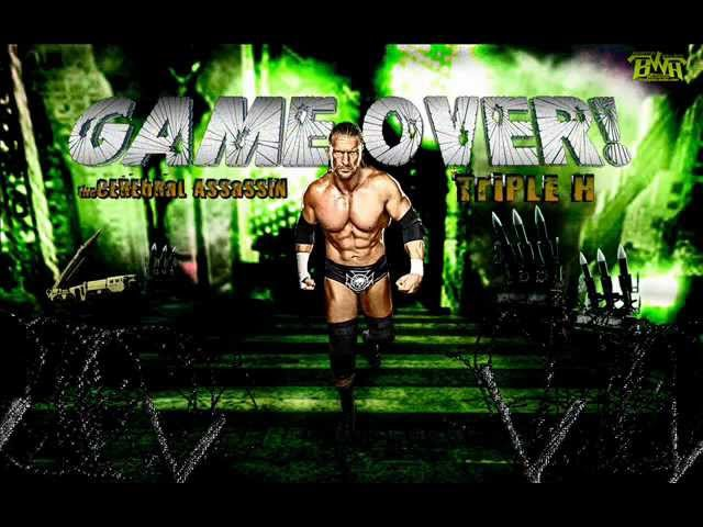 WWE-Triple H Theme Song- the Game (HQ Arena Effect Dowland link Piched down )