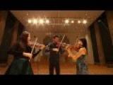 F.Hermann Capriccio for 3 violins, Op. 2 Jiyoon Lee Niek Baar Mayumi Kanagawa HD