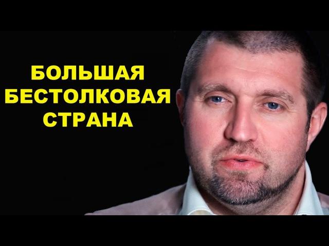 Дмитрий Потапенко Большая бестолковая страна