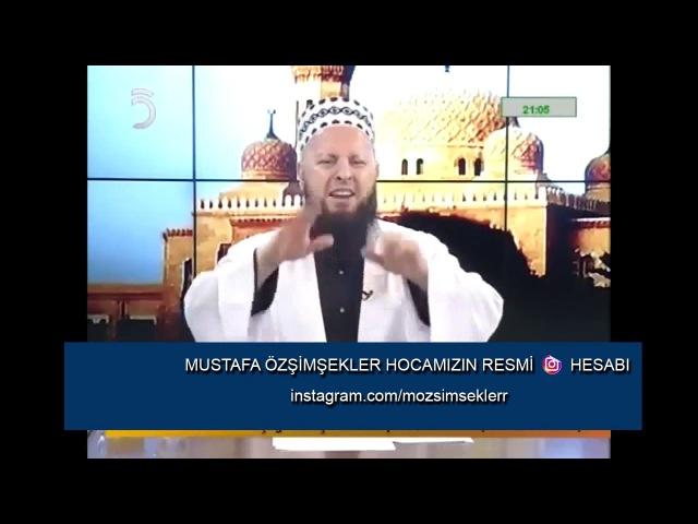 Mustafa Özşimşekler Hocaefendi Gözün zinası Harama bakmaktır