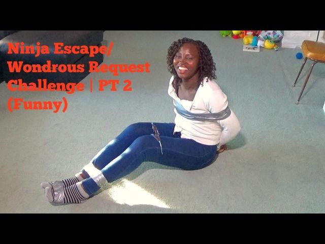 Ninja Escape/Wondrous Request Challenge | PT 2 (Funny)