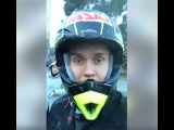 Live Report from Georgia - before The 2nd stage of Talent Show  Motorcycle Stunt Rider