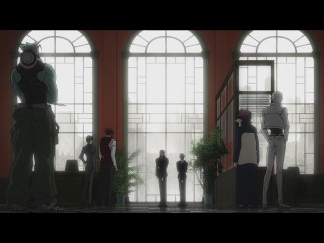 [SHIZA] Фронт кровавой блокады (2 сезон): Запределье / Kekkai Sensen Beyond TV2 - 5 серия [MVO] [2017] [Русская озвучка]