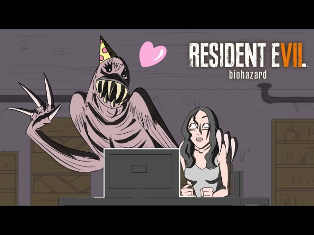 Resident Evil 7 Parody Animation GAME SHENANIGANS