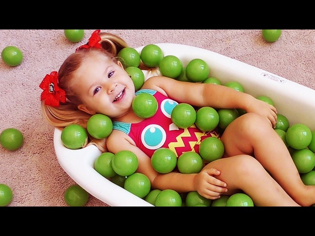 The Ball Pit Show for learning colors! Children educational video / Bad Kid Colours Nursery Rhymes