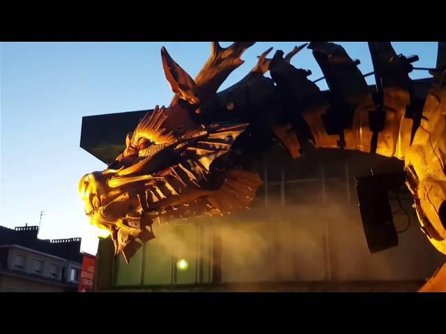 Long Ma le Dragon Cheval et Kumo l'araignée - Calais 2016 -