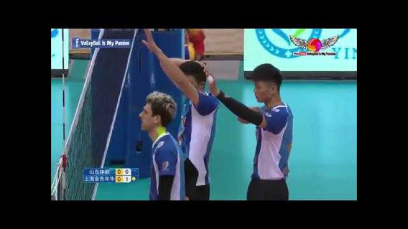 Shandong (山东) vs Shanghai (上海) | 19-11-2017 | Chinese Men's volleyball super league 2017/2018