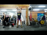 Aleksander Khvostov jerk with 28kg 161 reps in 10 minutes