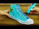 Конверс обувь с 3D Pen Creation