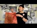 Юбка трапеция Шьем юбочку за 30 минут 1 часть Строим сразу на ткани