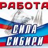 «Сила Сибири» работа