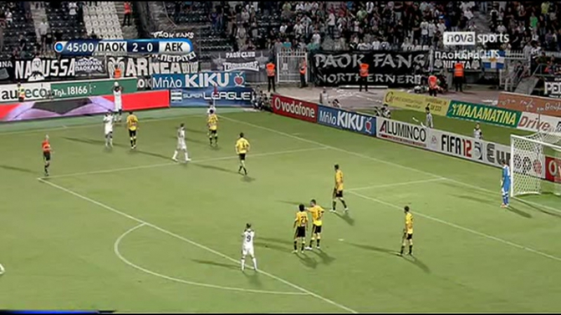 Чемпионат Греции 2011-12. 4-й тур. Обзор тура (24-25.09.2011)