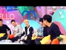 171029 EXO's Suho & Sehun @ 'Hello Counselor' BTS