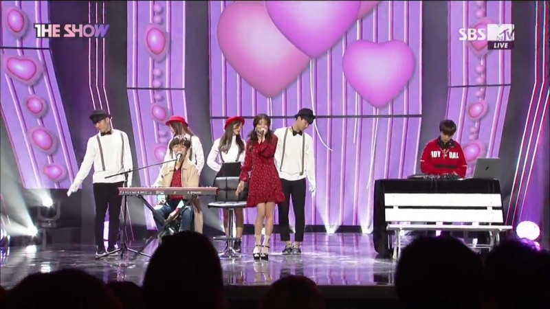 Heyne Minsoo - Love Is Blind @ The Show 171114