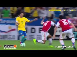 Бразилия - Парагвай 2:0. Неймар